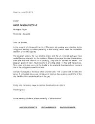 Complaint Letters Samples Gorgeous Complaint Letter