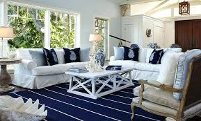 beach house area rugs in blue cottage style