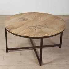 rustic round coffee table the new way home decor precious o