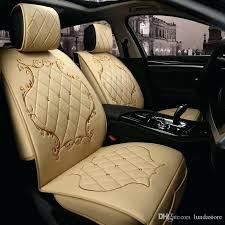 seat covers for cars luxury leather car seat covers for all models drain black red beige