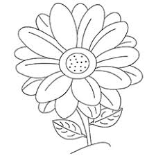 coloring pages for kids flowers. Perfect Pages The Daisy Coloring Pages Intended For Kids Flowers F