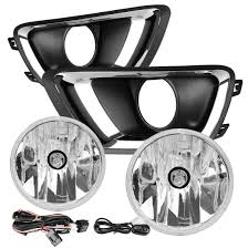 2016 Chevy Colorado Fog Light Kit For 2015 2018 Chevy Colorado Clear Bumper Fog Lights Lamps W