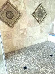 shower pan paint fiberglass shower pan large walk in with custom tile using construction best paint