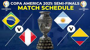 COPA AMERICA 2021 SEMI FINALS FULL ...