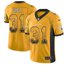 Rush Shop 31 Shell steelers Jerseys Donnie Fan Color