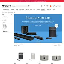 bose 130. bose soundtouch 130 speaker - $1,869 ($2,199 rrp 15% off) + bonus wireless @ myer ozbargain bose