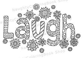 Laugh Printable Gift Coloring Pageadult Coloring Pages Inspirational