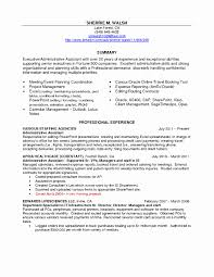 Executive Administrative Assistant Resume Executive assistant Resume Examples Best Of Sample Resume 25