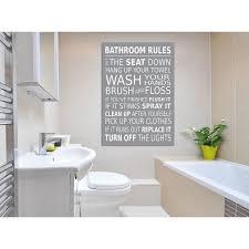 bathroom wall picture bathroom rules