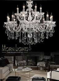 large crystal chandelier 18 arms luxury crystal light chandelier fashion chandelier crystal light modern large chandelier light candle chandelier pink