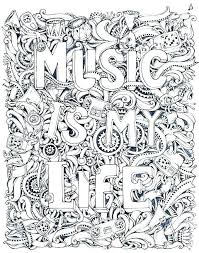 Important Music Coloring Pages Printable For Kids Flowers Free