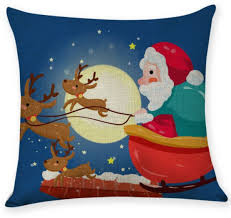 Office nap pillow Sleepy Head Christmas Santa Claus Cartoon Pattern Cotton Hug Pillowcase Office Nap Pillow Pillowcase Pillow Core Souq Uae Solidropnet Christmas Santa Claus Cartoon Pattern Cotton Hug Pillowcase Office