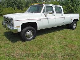 1984 84 Chevrolet Chevy C30 1 one ton 4x4 Four Wheel Drive crew ...