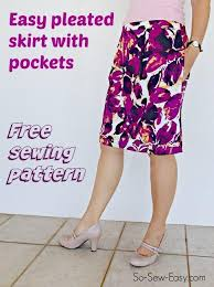 Free Skirt Patterns New 48 FREE Skirt Sewing Patterns Multiple Sizes Available