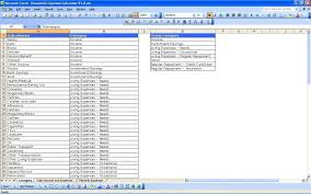 Excel Spreadsheet For Finances Expenses And Income Capital Budgeting