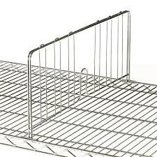 metal divider of wire shelving accessory