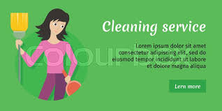 advertising a cleaning business cleaning service advertisement card woman member of cleaning