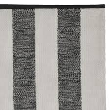 perennials donovan stripe indoor outdoor rug black