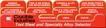 Crucible Tool Steel And Specialty Alloy General Information
