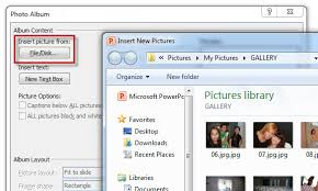 Create A Ppt How To Create A Photo Slideshow In Powerpoint