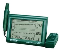 Electronic Chart Recorder Extech Rh520a Humidity Temperature Chart Recorder With Detachable Probe