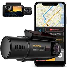 Rexing V3 <b>Dual Camera</b> Front and Inside Cabin Infrared Night ...