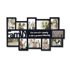 Small Picture Zipcode Design 11 Opening Wooden Photo Collage Wall Hanging
