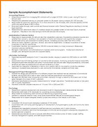 Resume Accomplishments Sample 60 resumes accomplishments examples letter signature 30