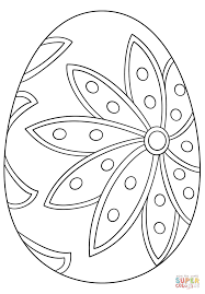 Small Picture Fancy Easter Egg coloring page Free Printable Coloring Pages
