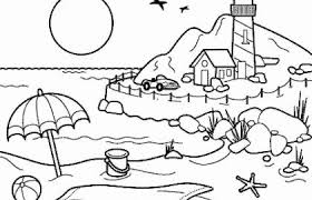 Summer Fun Coloring Pages Free Best Of Childrens Printable Coloring
