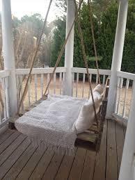 diy pallet bed porch swing