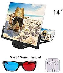 WXX <b>14 Inch Mobile Phone</b> Screen Magnifier, 3D HD Screen ...