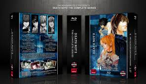 The anime you love for free and in hd. Death Note The Complete Series Movies Box Art Cover By Backin5minutes