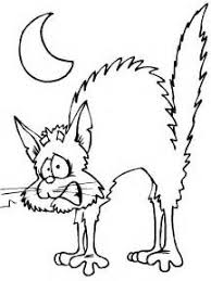 Small Picture Big Cat Halloween Coloring Printables Coloring Pages halloween