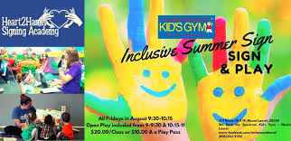 Summer Sign Asl And Play At We Rock The Spectrum Mount
