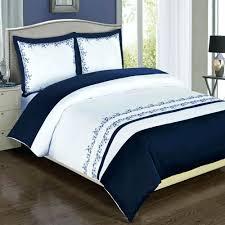 full size of modern navy blue white embroidered cotton duvet cover set dark blue duvet cover