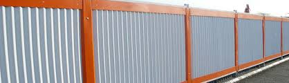 Simple Sheet Metal Fence Fencing Boundaries Ludhiana Building Material Inside Inspiration Decorating