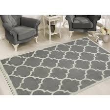 sweet home s contemporary moroccan trellis gray 8 ft x 10 ft area rug
