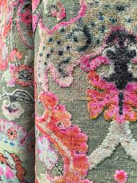 fj kashanian sari silk high low pile shown high point april 2016