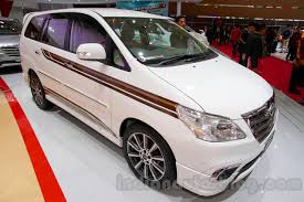 Toyota Innova special edition front three quarters left at the ...