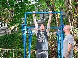 building a backyard pull up bar al kavadlo diy pull up bar crossfit the