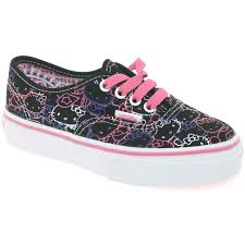 vans shoes 2016 for girls. hello kitty authentic girls lace up canvas shoes vans 2016 for e