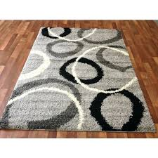 black white grey area rugs whole area rugs rug depot gray contemporary circles gy area rug unique black white ivory