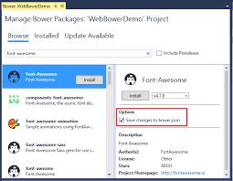 Verwalten von clientseitigen Paketen mit Bower in ASP.NET Core ...