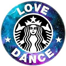 lovedance starbucks logo edit galaxy...