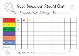 Editable Reward Chart Reward Chart Template Free Printable For 3 Year Old Charts