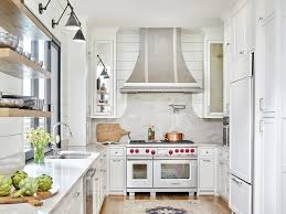 Modern farmhouse kitchen design 19th Century Farmhouse Davenport Imber Combines The Minimalistic Look Of Modern Kitchen With The Charm Of Traditional Farmhouse To Showcase The Best Of Both In Modern Kitchen Ideas Modern Farmhouse Kitchen Bath Design News
