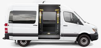 This tank's footprint starts where the factory tank is located and extends all the way thru the cavity outside. Mercedes Benz Sprinter Side Entry Lift Conversion