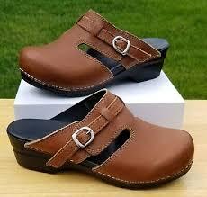 Sanita Shoe Size Conversion Chart Sanita Brown Leather Professional Staple Clogs Womens Size