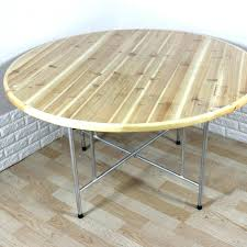 round pine table hotel fir big round table hotel banquet solid wood folding dining table and